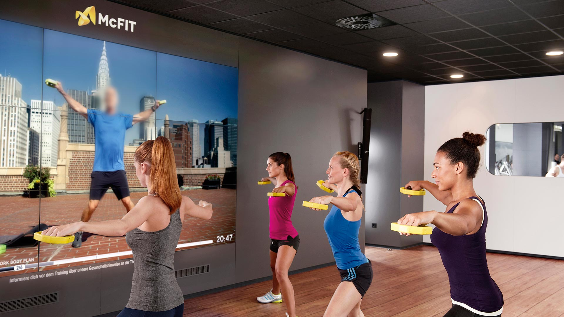 AV Technology for Fitness Facilities