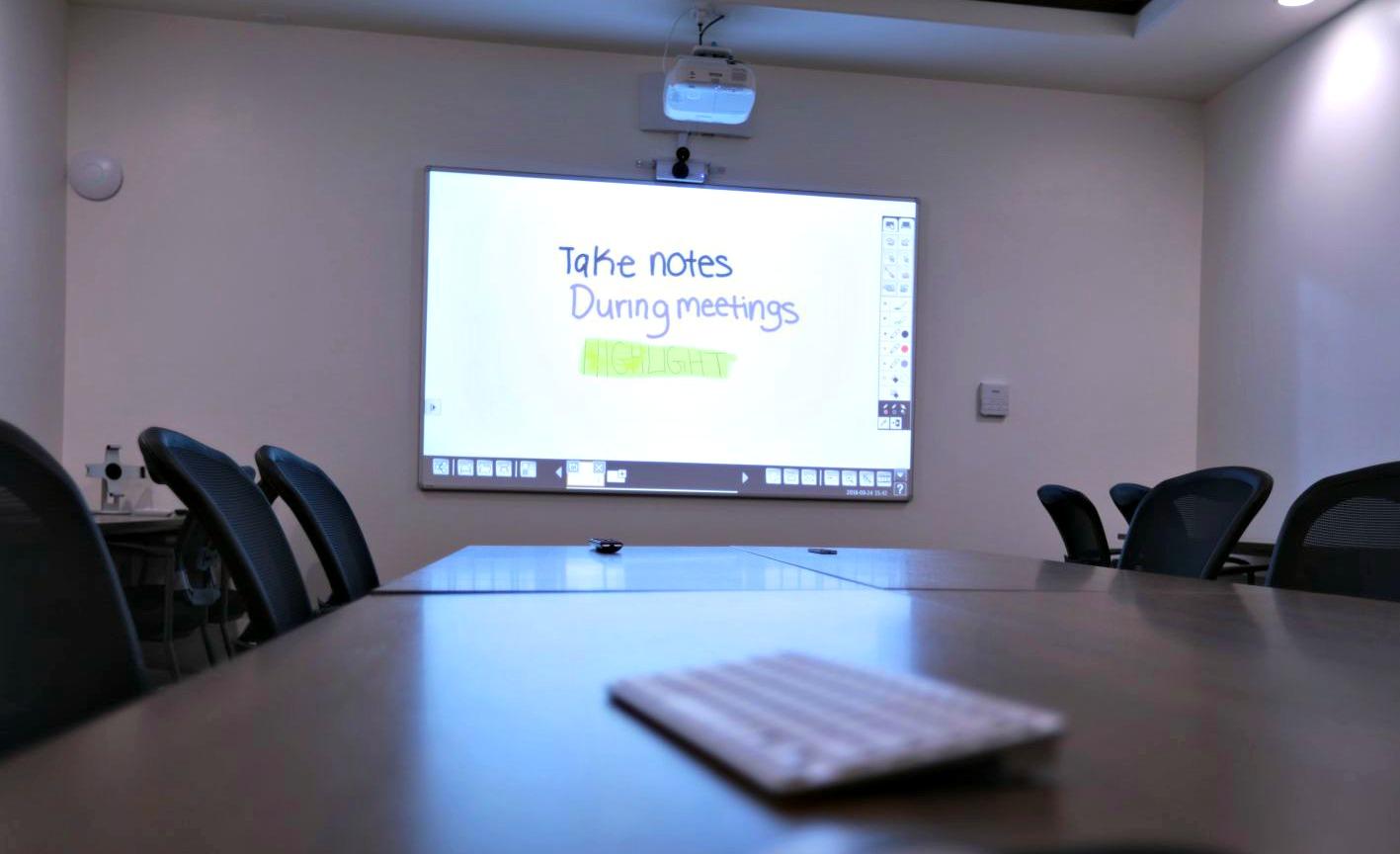 Interactive Projector Takes Kelowna Agency S Boardroom To